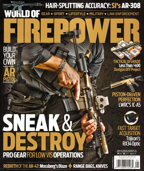 World of Firepower Cover - 5/1/2015