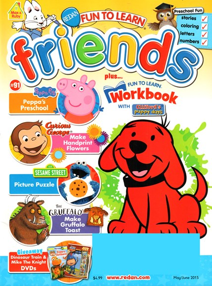 Preschool Friends Cover - 5/1/2015