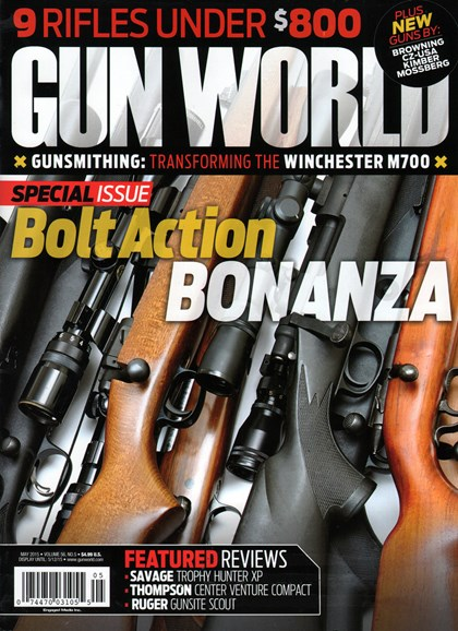 Gun World Cover - 5/1/2015