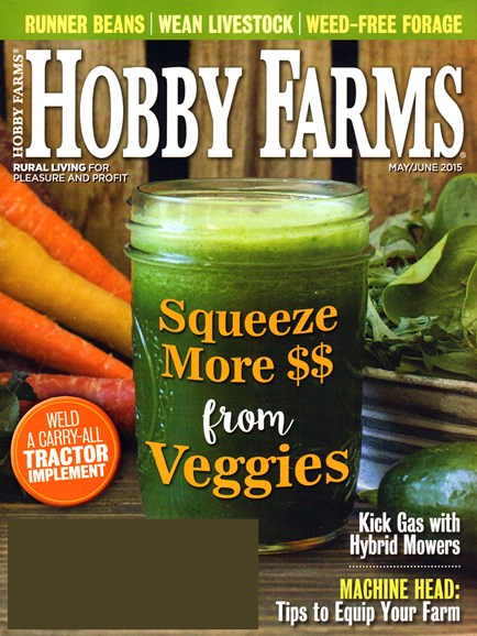Hobby Farms Cover - 5/1/2015