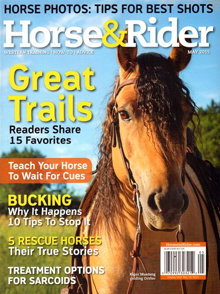 Horse & Rider Cover - 5/1/2015