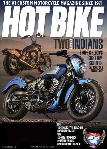 Hot Bike Cover - 5/1/2015