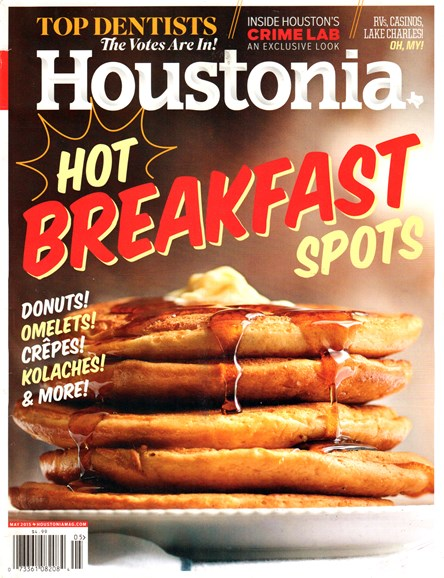 Houstonia Cover - 5/1/2015
