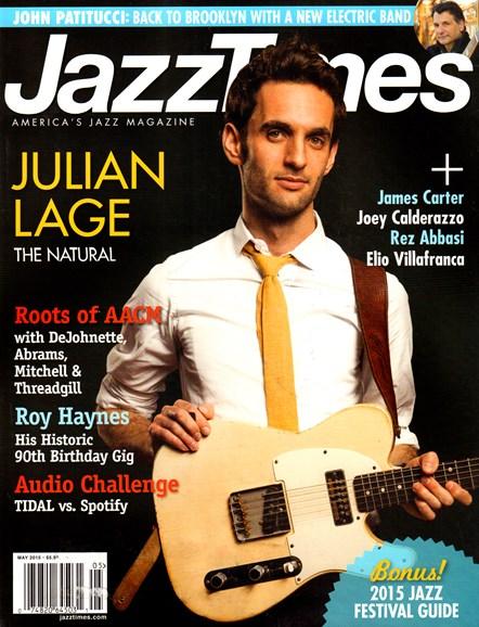 JazzTimes Cover - 5/1/2015
