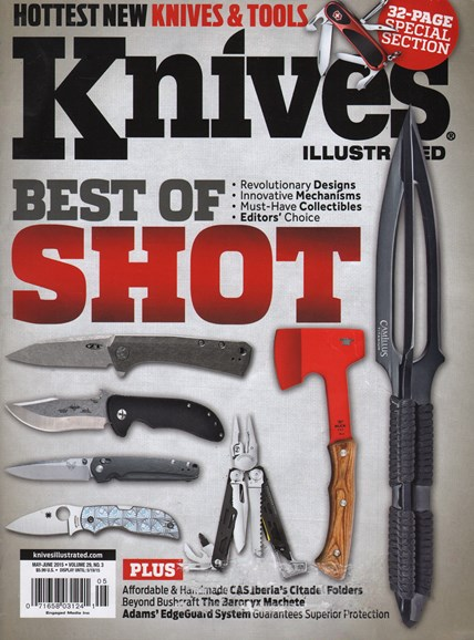 Knives Illustrated Cover - 5/1/2015