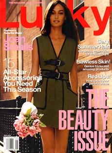 Lucky   5/2015 Cover