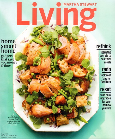 Martha Stewart Living Cover - 5/1/2015