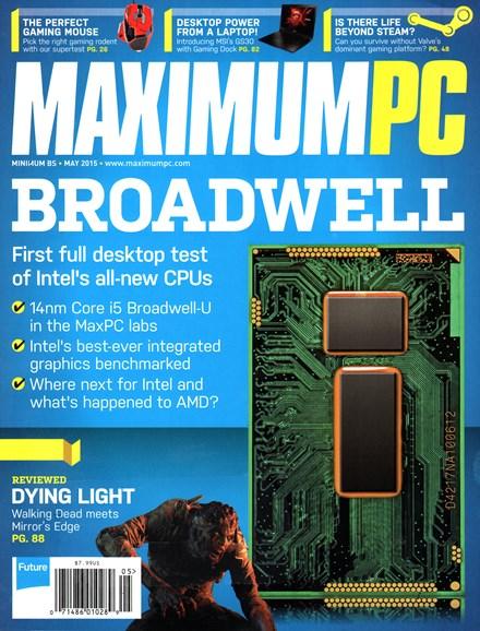 Maximum PC Cover - 5/1/2015