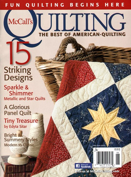McCall's Quilting Cover - 5/1/2015