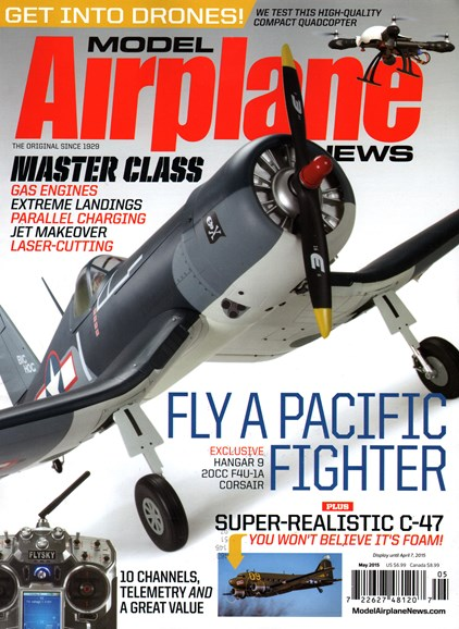 Model Airplane News Cover - 5/1/2015