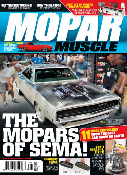 Mopar Muscle Cover - 5/1/2015