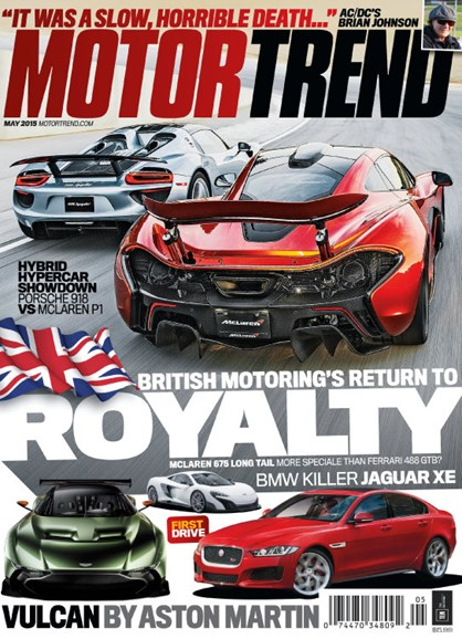 Motor Trend Cover - 5/1/2015