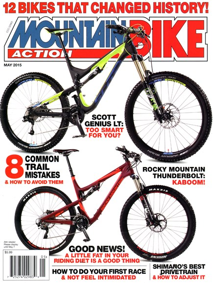 Mountain Bike Action Cover - 5/1/2015