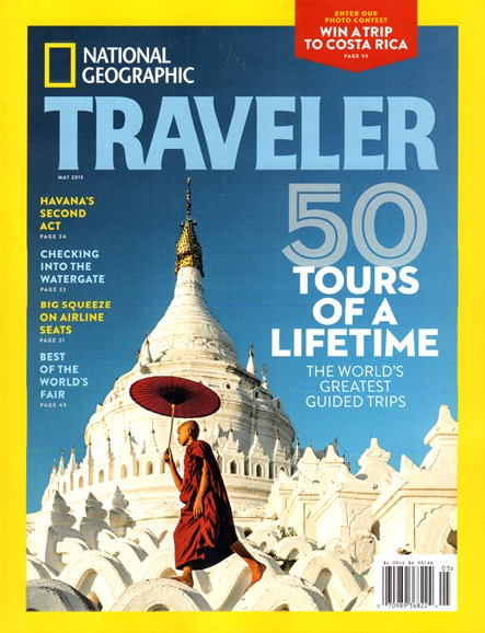 National Geographic Traveler Cover - 5/1/2015