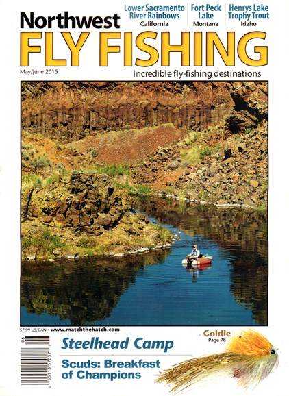 Northwest Fly Fishing Cover - 5/1/2015