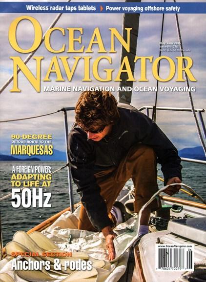 Ocean Navigator Cover - 5/1/2015