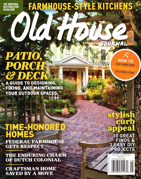 Old House Journal Cover - 5/1/2015