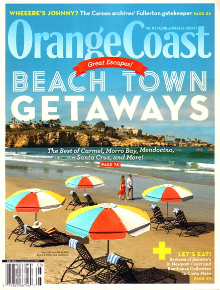 Orange Coast Cover - 5/1/2015