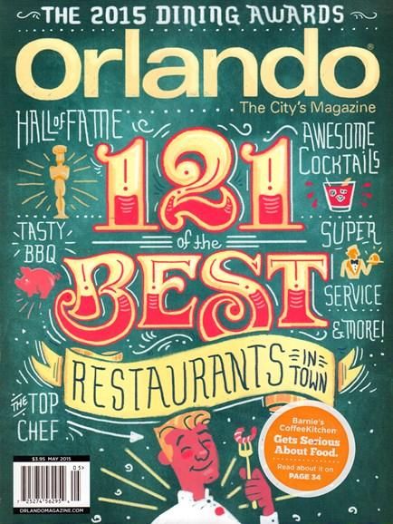 Orlando Magazine Cover - 5/1/2015