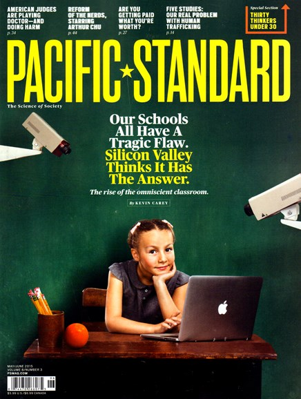 Pacific Standard Cover - 5/1/2015