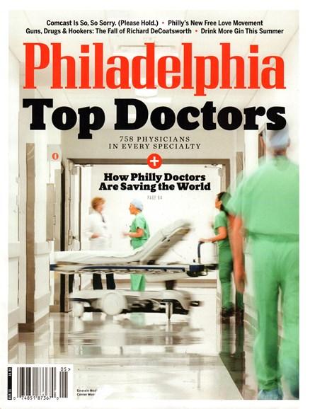 Philadelphia Magazine Cover - 5/1/2015