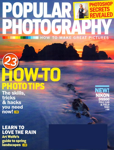 Popular Photography Cover - 5/1/2015