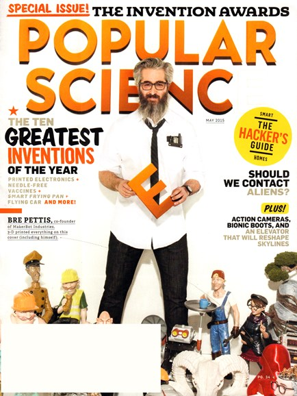 Popular Science Cover - 5/1/2015