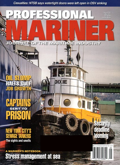 Professional Mariner Cover - 5/1/2015