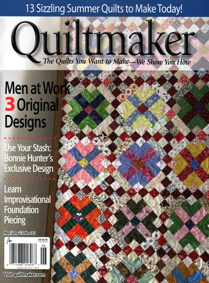 Quiltmaker Cover - 5/1/2015