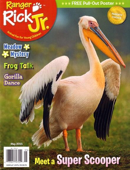 Ranger Rick Jr. Cover - 5/1/2015