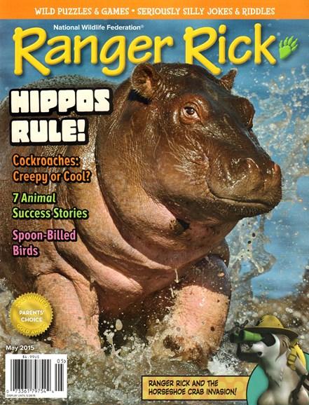 Ranger Rick Cover - 5/1/2015