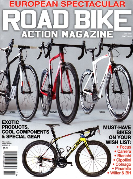Road Bike Action Cover - 5/1/2015