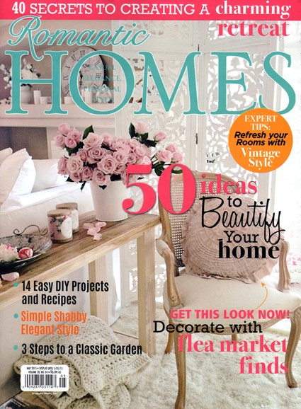 Romantic Homes Cover - 5/1/2015
