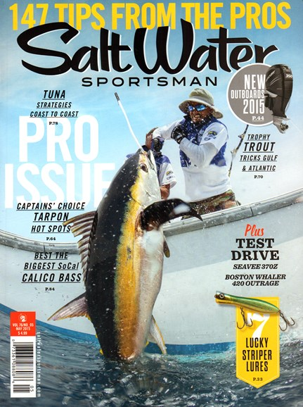 Salt Water Sportsman Cover - 5/1/2015