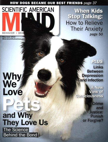 Scientific American Mind Cover - 5/1/2015