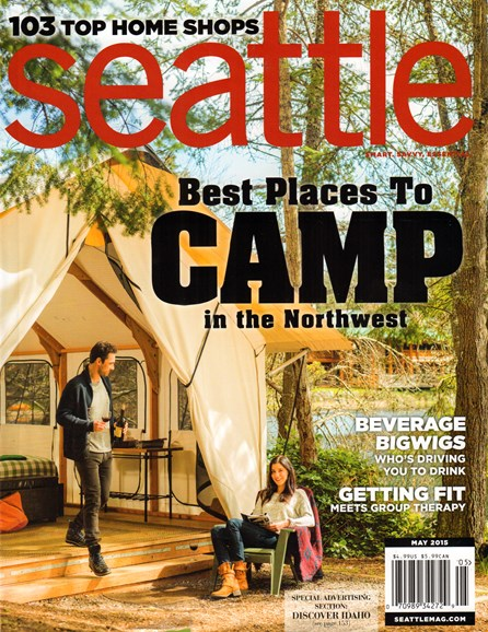 Seattle Magazine Cover - 5/1/2015