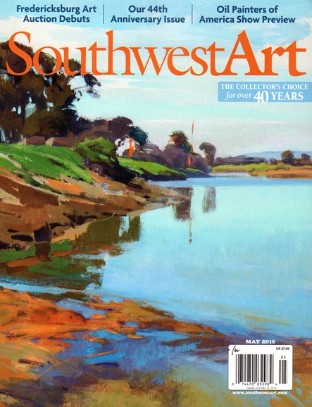 Southwest Art Cover - 5/1/2015