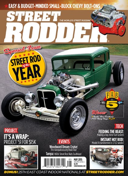 Street Rodder Cover - 5/1/2015