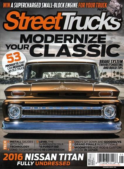 Street Trucks Cover - 5/1/2015