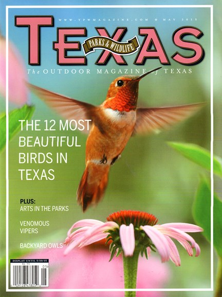 Texas Parks & Wildlife Cover - 5/1/2015