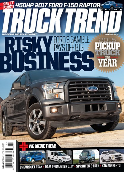 Truck Trend Cover - 5/1/2015