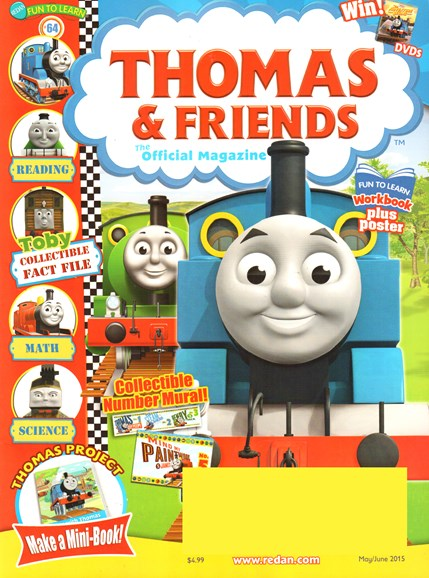Thomas & Friends Cover - 5/1/2015
