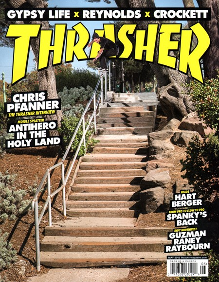 Thrasher Cover - 5/1/2015
