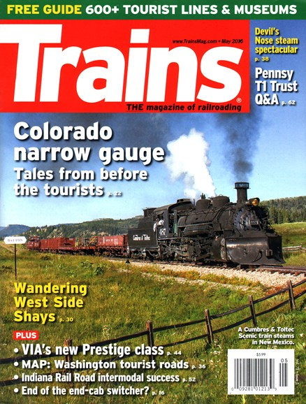 Trains Cover - 5/1/2015