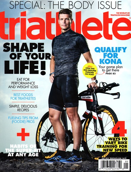 Triathlete Cover - 5/1/2015