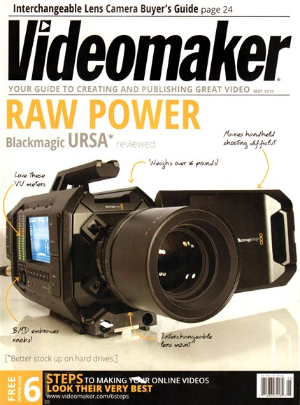 Videomaker Cover - 5/1/2015