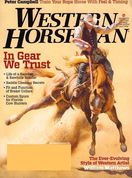 Western Horseman Cover - 5/1/2015
