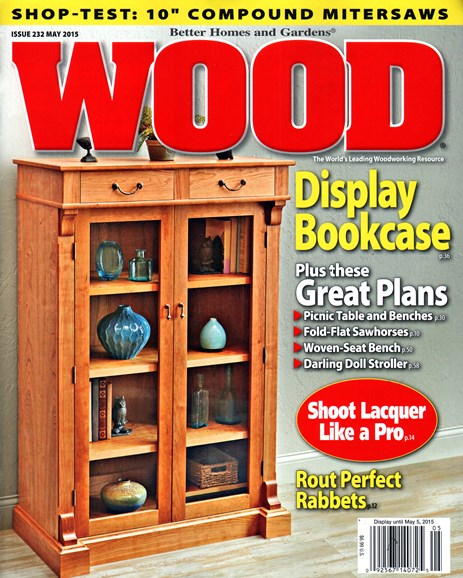 Wood Cover - 5/1/2015