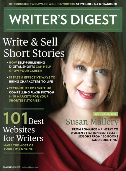 Writer's Digest Cover - 5/1/2015