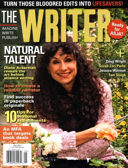 The Writer Cover - 5/1/2015